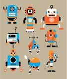 Cute cartoon robot Stock Image