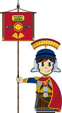 Cute Cartoon Roman Soldier Royalty Free Stock Images