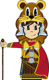 Cute Cartoon Roman Soldier Royalty Free Stock Image