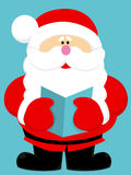 Cute cartoon Santa Claus Stock Images