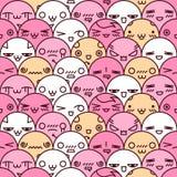 Cute cartoon seamless pattern Stock Images