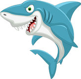 Cute Cartoon shark Stock Images