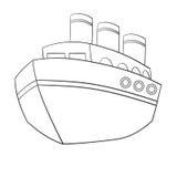 Cute Cartoon Ship Stock Photos