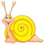 Cute cartoon snail Royalty Free Stock Photography