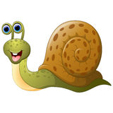 Cute cartoon snail Royalty Free Stock Image