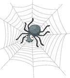 Cute Cartoon spider Royalty Free Stock Image