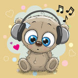Cute cartoon Teddy Bear Stock Photo