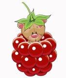 Cute Cartoon Teddy Bear Stock Image