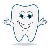 Cute cartoon teeth vector illustration Stock Photo