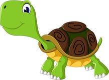 Cute cartoon turtle. Of illustration Stock Images