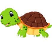 Cute cartoon turtle Stock Photo