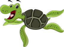 Cute cartoon turtle Royalty Free Stock Image