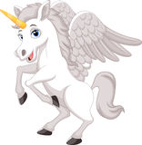 Cute Cartoon unicorn Royalty Free Stock Images