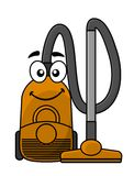 Cute cartoon vacuum cleaner Stock Photo