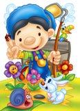 Cute cartoons Stock Images