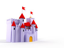 Cute castle Royalty Free Stock Images