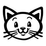 Cute Cat Cartoon Royalty Free Stock Photos