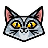 Cute Cat Cartoon Royalty Free Stock Photo
