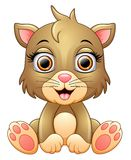 Cute cat cartoon Royalty Free Stock Images