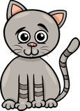 Cute cat cartoon illustration Royalty Free Stock Image
