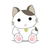 Cute cat character Stock Photo