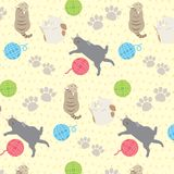 Cute_cat_comfort_ διανυσματική απεικόνιση