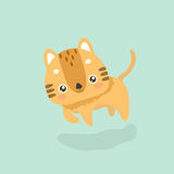 Cute cat illustration. Royalty Free Stock Photo