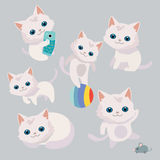 Cute cat illustration. Stock Photography