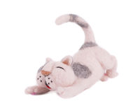Cute cat toy. Stock Photos