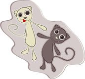 Cute Cat - Vector Stock Photos