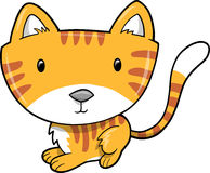 Cute Cat Vector Illustration Stock Image