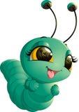 Cute caterpillar cartoon Royalty Free Stock Photo