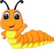 Cute caterpillar cartoon. Illustration of Cute caterpillar cartoon royalty free illustration
