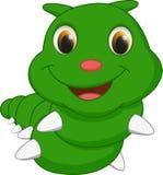 Cute caterpillar cartoon Stock Photo