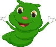 Cute caterpillar cartoon Stock Photos