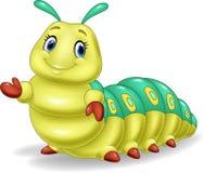 Cute caterpillar presenting Stock Photos