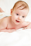 Cute caucasian baby Royalty Free Stock Image