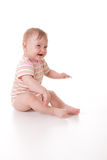 Cute caucasian baby Stock Photography