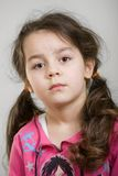 Cute caucasian girl. Stock Photo