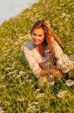 Cute Caucasian Model Stock Photos