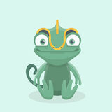 Cute chameleon. Stock Images