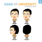 Cute character design - Boy Set. Cute character design Boy Set with Illustrator Stock Images