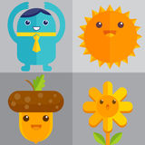 Cute charactor Stock Photography