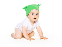Cute charming baby Royalty Free Stock Photography