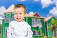 Cute cheeky boy Royalty Free Stock Images