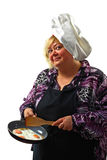 Cute chef Royalty Free Stock Photos