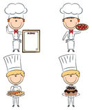 Cute chef men Royalty Free Stock Image
