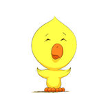 Cute chick character Stock Image