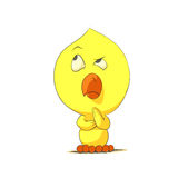 Cute chick character Royalty Free Stock Photo