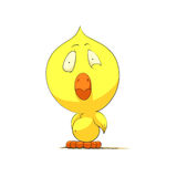 Cute chick character Royalty Free Stock Image